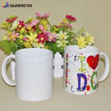 Sunmeta 11OZ em branco Sublimação Heat Press Impresso Mug