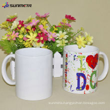 blank sublimation ceramic mug for christmas gift