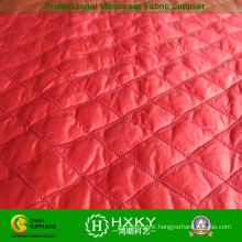 Polyester Taffeta Diamond Stitch Fabric for Children Winter Jacket or Lining