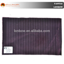 Guaranteed quality popular stripe style suit velvet fabrics