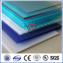 SGS ISO approuve une feuille de polycarbonate transparent de haute qualité, un prix de la feuille de polycarbonate