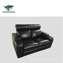 High Quality Theaters with Reclining Seats, Leather Recliner with Cup Holder