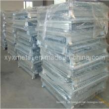 Bulk Material Handling Faltbarer Stapelbarer Wire Storage Container