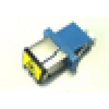 LC Adaptador híbrido de fibra óptica com obturador de poeira