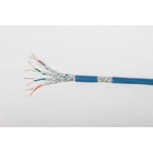 High-Speed Cat7 blindado SSTP Indoor / Outdoor cabo Ethernet com jaqueta LSZH
