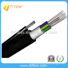 Good Quality Cheap price Outdoor G652D FRP Strength Outdoor Loose Tube Fiber Optic GYXTC8Y Armoured Outdoor Optical Fiber Cable