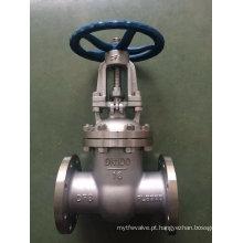 Válvula de porta da cunha do ANSI Ss304 / 316 com extremidade de Falnge (Z41)