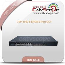 Alto rendimiento Csp-1000-8 Epon 8 Puerto Olt