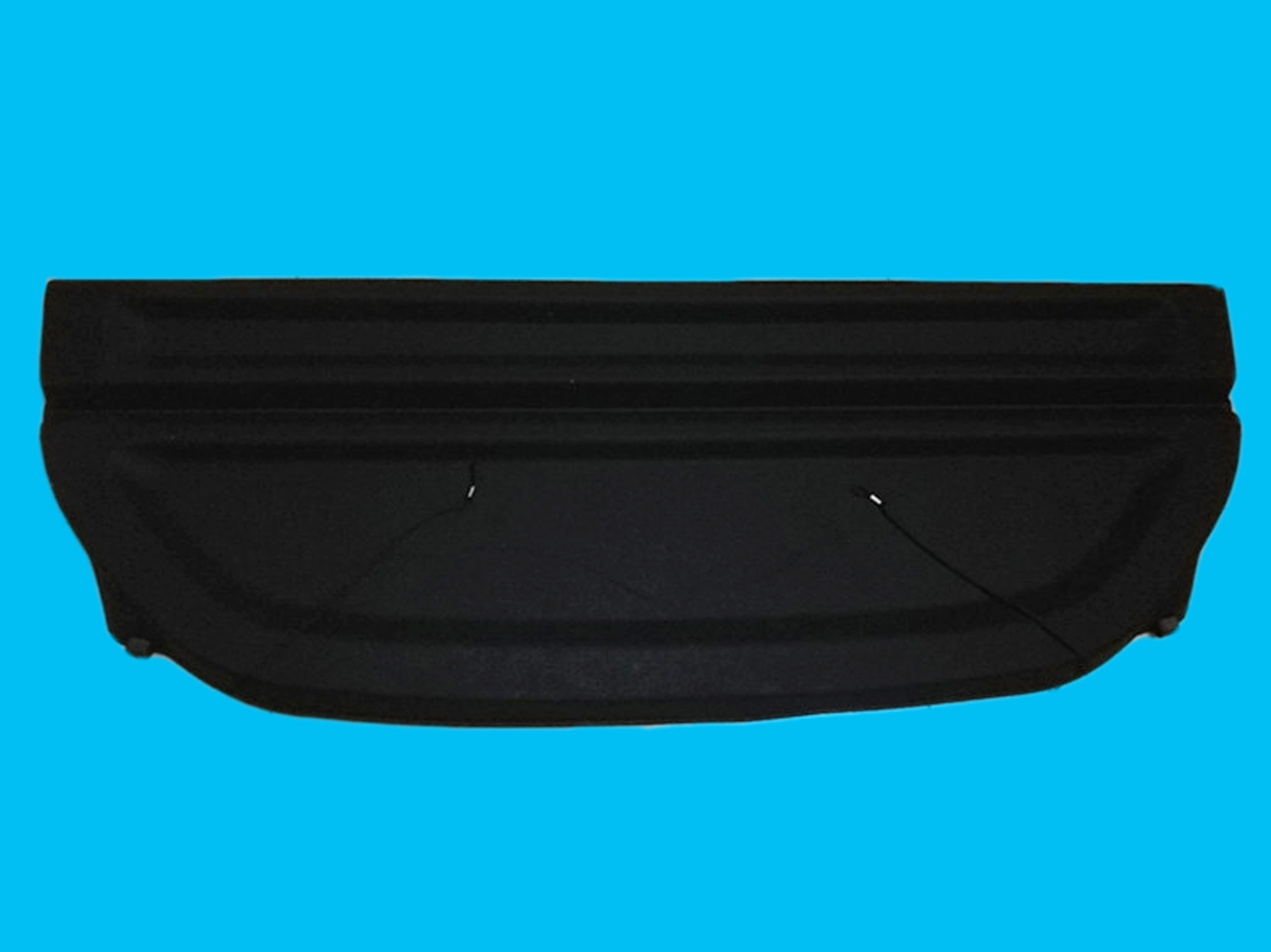 Black Non Retractable Cargo Cover Shield