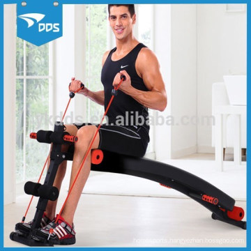 mens trainers abdominal bench with ropes