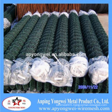 YW-Hot Dipped Galvanized Temporary Construction Chain Link Fence