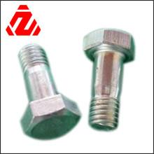 DIN933 Kohlenstoffstahl-Halsschrauben