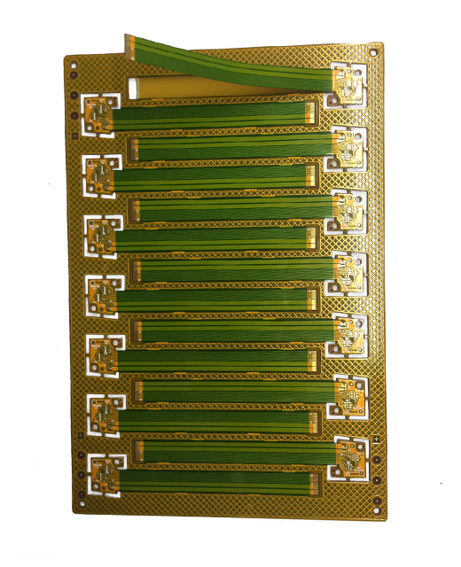 Double-sided Rigid Flexi PCB