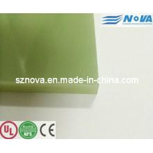Laminado de fibra de vidrio epoxi Fr4 / Epgc201 / Epgc202