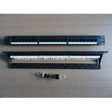 "1u 19"" 24 Ports Cat5e UTP Keystone Patch Panel (WD6A-006)"