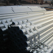 Top selling galvanized seamless steel pipe
