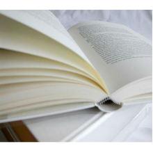 Papel 100% Offset da impressão do livro da polpa de madeira do Virgin