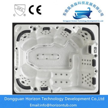 8 seats indoor spa hot tub