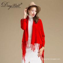 Chine Usine assez élégant à la main 100% pur modèle laine mérinos Pashmina châle