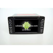 Quad core! Voiture dvd avec lien miroir / DVR / TPMS / OBD2 pour 6.2 pouces écran tactile quad core 4.4 Android système Mitsubishi outlander