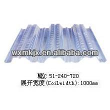Produce YX51-240-720 steel floor deck