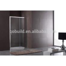 K-561 rectangulaire en verre trempé coulissant douche douche écran