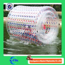 Colorful dots inflável água bola de rolamento, de alta qualidade grande bola inflável bola walk-in água comprar