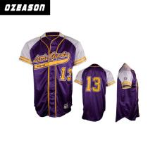 Custom Sublimated Baseball Shirts Baseball Jersey