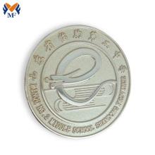 Kundenspezifisches Goldmetallüberzug-Knopfabzeichen des Metallhandwerks