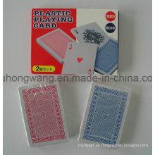 Doble juego de cartas de póquer Juego de cartas, juego de mesa