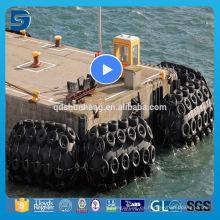 Defensor flotante de goma del tipo de los 4.5m * 9m