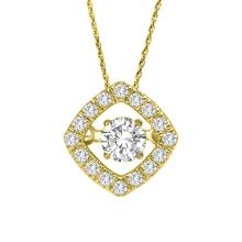 925 silberner Tanzen-Diamant-hängende Schmucksache-Großverkauf