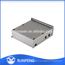 sellado de caja de chapa eléctrica, caja impermeable de aluminio