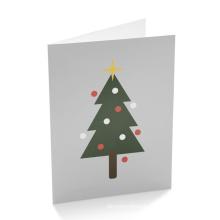 Cartoon Art Paper Custom Holiday Greeting Card Printing
