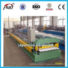 Machine de fabrication de carreaux en tôle d'acier ondulée galvanisée professionnelle