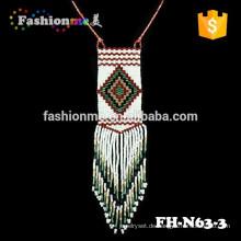 2015 neueste Design-japanische Seed Perlen Halskette