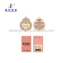 Customized Color!Custom Premium Cardboard Color Print Hangtag Clothes Tag