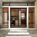 Lingyin Construction Materials Ltd Puerta corredera de aluminio ventanas de color negro