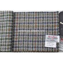 italian houndstooth tweed fabric