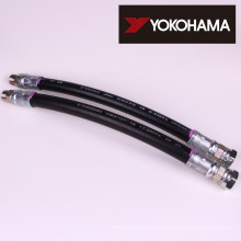 Hydraulic hose for oil supply. Manufactured by Yokohama Rubber Co., Ltd. (YCR) Made in Japan (hydraulic rubber hose prices)