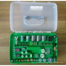 135w 217pcs conjunto de acessórios ETL GS CE moagem / polimento / sanding portátil hobby artesanato Power Grinder Kits Mini Electric Rotary Tool