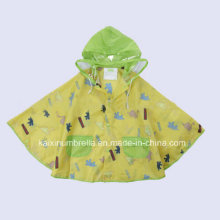 Hot Sale Kids Printing Waterproof Raincoat