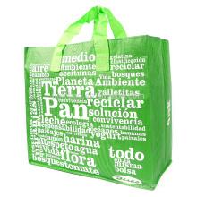 Popular Camouflage Artwork Waterproof PP Woven Travel Package Bag