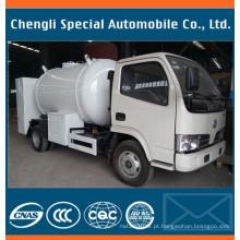 5500liters 2.3tons Dongfeng que cozinham o gás que enche o caminhão do gás