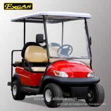 2 assentos dianteiros mais 2 assentos traseiros baratos carrinho de golfe elétrico para venda