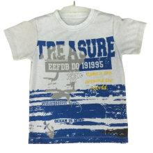 Camiseta 100% Cotton Ocean en ropa infantil con estampado