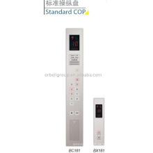 Painel de operação do automóvel do elevador, COP padrão