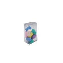 Caixa de embalagem pequena de plástico PVC acetato transparente