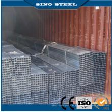 Chine Fabrication de tuyaux carrés galvanisés à chaud / pré galvanisés à chaud