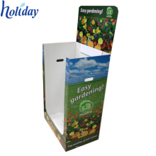 Portable Corrugated Foods Promotion Supermarket Dump Bins